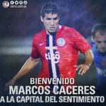 Marcos Cáceres regresa a su país para jugar en Cerro Porteño https://t.co/56DFVJ7tMt @LeprasyCanallas #Newells https://t.co/TmKDUK1oUZ