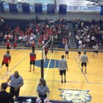 D3 Boys Volleyball: Hempfield and Penn Manor players warmup in Dallastown. @LancasterSports https://t.co/jkifRSliC9