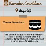 Ramadan countdown 9 days left.The place of the intention is not on the lips,It is in the heart #IOURamadan #Ramadan https://t.co/RPFbxeyWX7