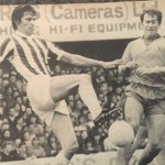 John Ritchie of Stoke City competes with Howard Kendall of Everton https://t.co/mExpxf90DS