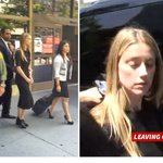Amber Heard Leaves Court After Seeking Restraining Order Against Johnny Depp https://t.co/uokIPmK398 https://t.co/8KzyRXVEeB