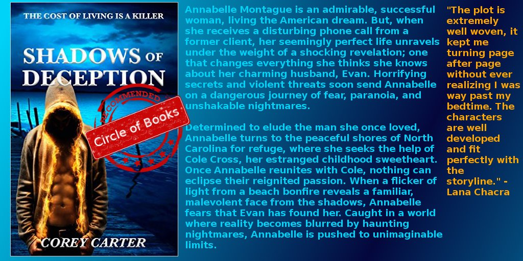 #thriller #romance #books ⭐⭐⭐⭐⭐ Shadows of Deception @coreycarter83 https://t.co/pNC4FMpuAS https://t.co/xUy8E82MMf