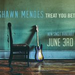 "My new single ""Treat You Better"" comes out June 3rd & is the 1st single from my 2nd album 🎸#7DaysTilBetter https://t.co/V43A22ffme"