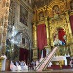"""#Sevillahoy """"Estrella de la Mañana y Madre del Evangelio"""" @leonardosdb #AuxiliadoraCoronada16 #Glorias16 #TDSCofrade https://t.co/MjKXNoOAc5"""