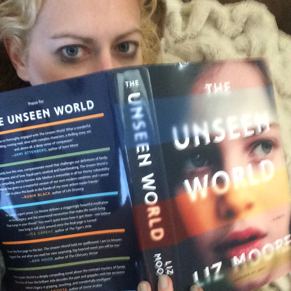 One copy left! I love The Unseen World so much I got 5 copies to give to fellow smart fiction fans