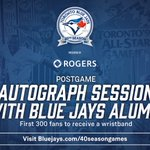 We're giving out wristbands to 1st 300 fans in #WestJet Flight Deck on Sun for a special postgame autograph session https://t.co/531So1wIkw