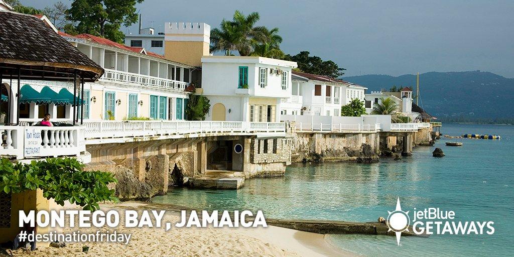 Make Jamaica your jam! Book a JetBlueGetaways vacay now to MontegoBay!