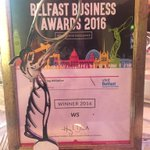 We are over the moon to win Best Marketing Initiative in the #BelfastBusinessAwards tonight!! https://t.co/VBecSeQznL