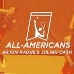 Say hello to your 2015-16 Doubles All-Americans, @cash_julian & @ArjunKadhe!  Congrats, Cowboys! #okstate https://t.co/75z8eyqHAL