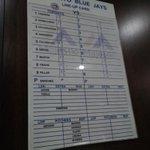 #BlueJays lineup tonight. Jose Bautista serving his suspension. https://t.co/IJRsjyFlPz