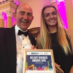 Congratulations to Hilton Belfast #BelfastBusinessAwards @VisitBelfastOrg https://t.co/JsPgNUE01A