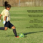 SASG SOCCER TRYOUTS Team Lethbridge U12 Co-ed Soccer June 3 6-8pm & June 5 1-3pm at Galbraith School #yql good luck! https://t.co/JuDJvRdXYY