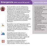 Condición del aire para Chillán y Chillán Viejo Viernes, 27 de Mayo de 2016 : EMERGENCIA: https://t.co/rPrDIb4qu6 https://t.co/PFq7HDJEu5