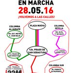 Mañana no te quedes en casa! La dignidad está en marcha. #MarchasDeLaDignidad #AlaCalle28M #Sevilla https://t.co/ToB2pKXxgX