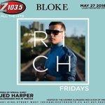 .@Hammeronair - Join me live to air inside of @BlokeToronto tonight for #RICHFridays #Toronto https://t.co/u79pEvZkPv