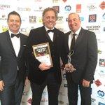 Delighted @HudsonBar Michael Stewart won Business Person of year @BelfastChamber #BelfastBusinessAwards https://t.co/7culJndlxD