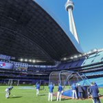 Todays the Dome-opener: Rogers Centre roof to be opened for Jays game tonight https://t.co/IVJxWwHE6B https://t.co/yDPmXw1jA5