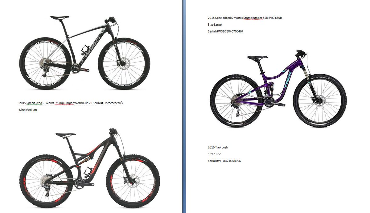 Please keep an eye out for these bikes that were stolen from us. If you see them contact us or the authorities. #yeg https://t.co/Exuo67FrwI