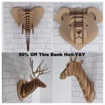**SPECIAL OFFER** All of our Animal Heads are 50% off ???? Begin your #bankholidayweekend with a ROAR!!! #tweetuk #kprs https://t.co/O9FmDlUcN9