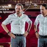 Esta noche Pablo Iglesias entrevistará en Cuatro a Pablo Iglesias... O algo así. #FeistoFeis #DesmontandoALaCasta https://t.co/7NJI7esbxT