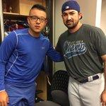 Suerte @theteenager7 en este día tan especial. #Dodgers #MLBdeput https://t.co/LaomXXdiJA