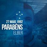 Hoje é o aniversário do nosso jogador, Elber! Muito sucesso e conquistas com a camisa celeste! https://t.co/iDZLc8i9gT