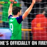 FT: Northern Ireland 3 - 0 Belarus Will Grigg is on ???????????? #GAWA https://t.co/wXZfiHbv9q