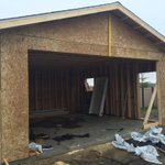 Our Blackfalds #garage went up today! 24x24 with 9 walls and a 16x8 door https://t.co/0Zdi99UCdN