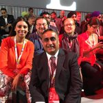 Having a great time at the Liberal Biennial Convention in #Winnipeg with friends from #Brampton #wpg2016 https://t.co/tjKYqLDNal