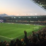 My first trip to the super new Windsor Park, for NIs last match before they head to France. Excitement in the air⚽️ https://t.co/QNEsOpuiml