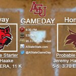 Its GAMEDAY for @ASTATEBaseball as the Red Wolves attempt to stay in contention at the SBC Tournament. #WolvesUp https://t.co/97XlzTgzKY