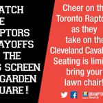 Raptors fans dont forget weve got the Big Game on the Big Screen in #GardenSquare tonight https://t.co/zRLZdk1YgK https://t.co/KNeHVgFTF2