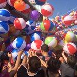 3rd Annual Beach Ball Drop at Resorts Casino Hotel kick off summer Memorial Day Weekend Atlantic City, NJ #acpress https://t.co/4Q0Mvd2NUp