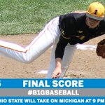 .@UIBaseball wins against @OhioState_BASE with a 10th inning walkoff single. Ohio State plays Michigan at 9 p.m. https://t.co/asI4JyZqWi