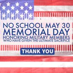 ???????? Georgetown ISD will be closed Monday, May 30, in observance of Memorial Day. ???????? https://t.co/FQGsSHSy74