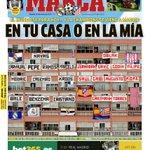 #LaPortada En tu casa o en la mía. El mundo se para hoy... y la Champions se viene a Madrid #UCLFinal https://t.co/6tm9Ls47CH