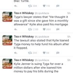Kylie Jenner is reportedly suing Tyga for over a million dollars! ???? https://t.co/r50cNIgxqa