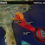 Tropical Depression #2, likely Tropical Storm Bonnie Saturday, will head for Georgia/South Carolina this weekend. https://t.co/szN7qRnYMd