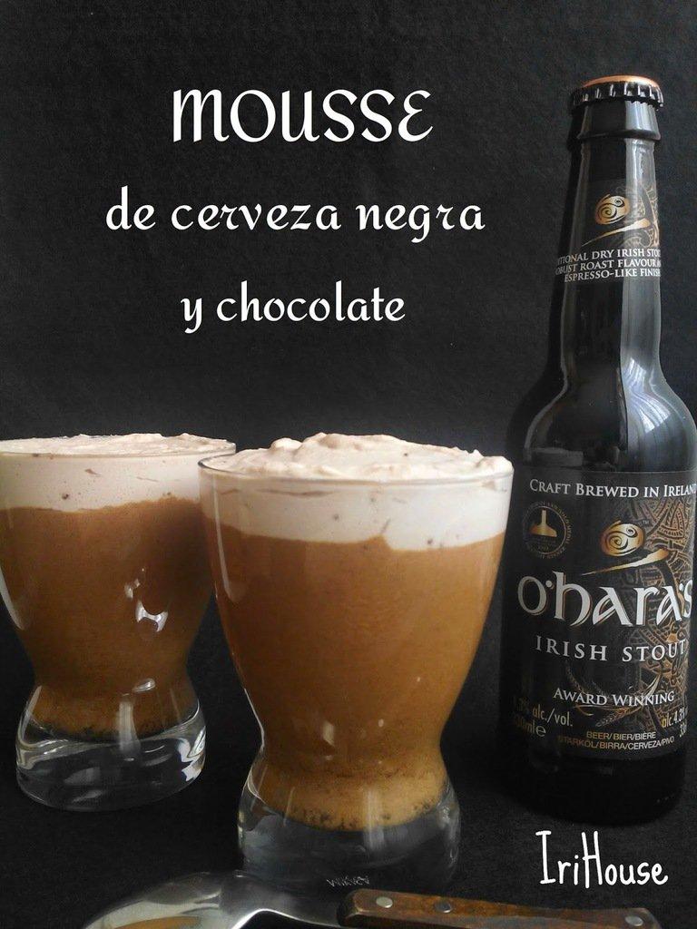 El delirio de un cervecero: Mousse de cerveza negra y chocolate ¡Para cerrar con broche de oro! #Receta #impelable … https://t.co/p6tOkK4OHE