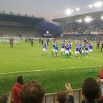 Super result at Windsor Park tonight and a truly inspiring fireworks send off! Good luck in France! #GAWA https://t.co/bkbLIC9hLw