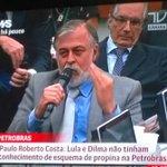 """Aí @jornalnacional...Paulo R.Costa: """"Lula e Dilma não tinham conhecimento nem faziam parte de esquema na Petrobras."""" https://t.co/YTzjuI3B3J"""