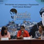 """Presentación del libro """"Gotas de Ámbar"""" de Guadalupe Azuara Forcelledo, en el Instituto Juárez. https://t.co/ImRflEDSrE"""