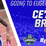 With a 2:04.90 to win her 800m heat, Ceaira Brown is Eugene-bound! #NCAATF #RespectTheH https://t.co/sziFyn7kGD