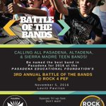 Battle of the Bands is back! Pre-register as spaces are limited. https://t.co/buZ61RTTAc @Rock4PEF @pasedfoundation https://t.co/rG3RhbZW91