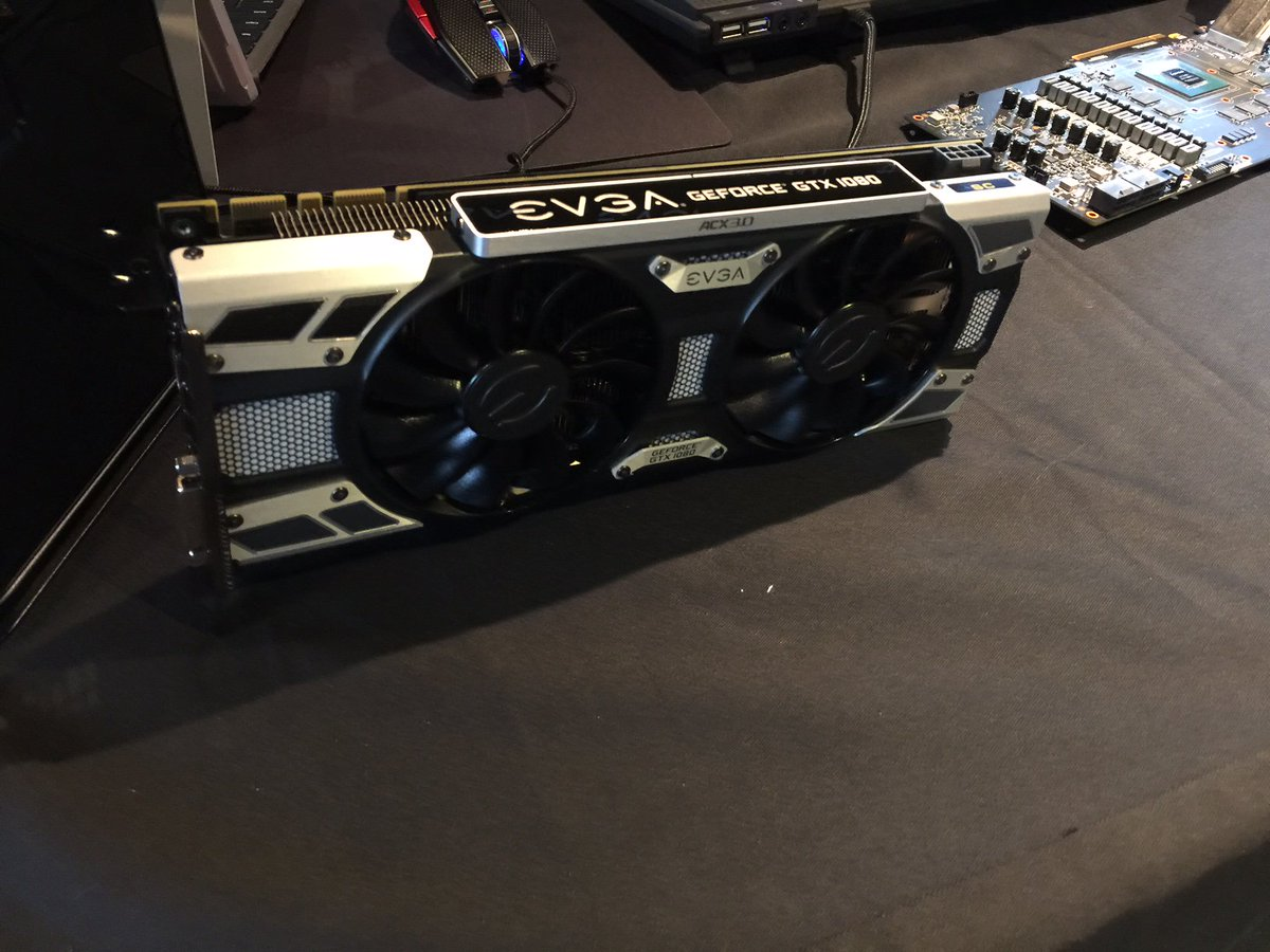 Seems like a good day to give away an EVGA GeForce GTX 1080 SC, what do you think? Stay tuned for more details!! https://t.co/WRllifXldo