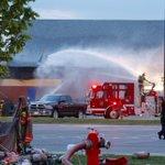 Firefighters still inside Victoria Park Arena battling a two-alarm blaze. https://t.co/0jm3EeYRpU https://t.co/s2xxneo5Rb