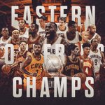 Back-to-back #ECF Champs. #ALLin216 https://t.co/QedM9lLxfE