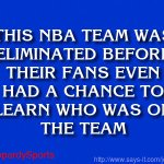 """Who are: the Toronto Raptors?"" #JeopardySports #NBAPlayoffs https://t.co/M3hj97juxM"
