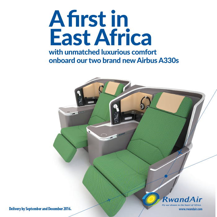 Comfort & convenience beyond your imagination!  #Mumbai & #Guangzhou coming soon!  #FlyRwandAir #FlyTheDream #A330 https://t.co/Wvbc4doDom