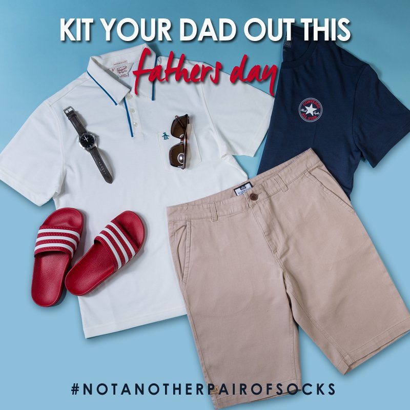#LIKE & #RT for your chance to #WIN a Fathers Day outfit! Competition ends @ midnight 14/6/16 #NotAnotherPairOfSocks https://t.co/lTh1Lbe591